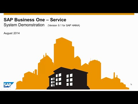 SAP Business One - Servisní modul