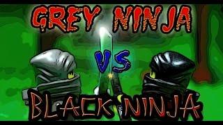 Series 1: Grey ninja VS Black ninja