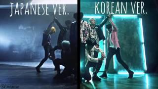 BTS (방탄소년단) - Run (Split Audio: Korean & Japanese)
