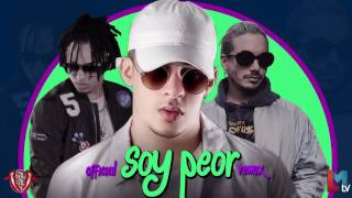 Soy peor Remix   Bad Bunny Ft J Balvin, Ozuna & Arcangel   YouTube