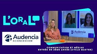 Campus Channel : Tout savoir sur Audencia SciencesCom