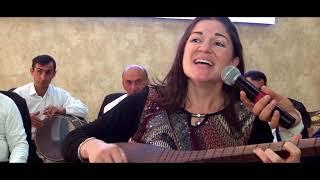 Amerikali xanım aşıq Marta Lawry Qazaxda Şamil bəyin toyunda 03.11.2017