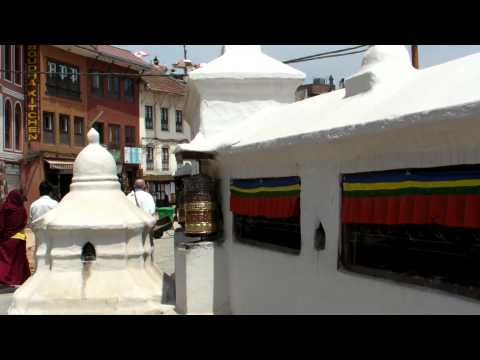 SANY0699.MP4 BoudhaNath Stupa Movie