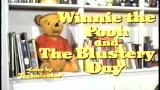 Opening to Winnie the Pooh and the Blustery Day 1989 VHS [True HQ]