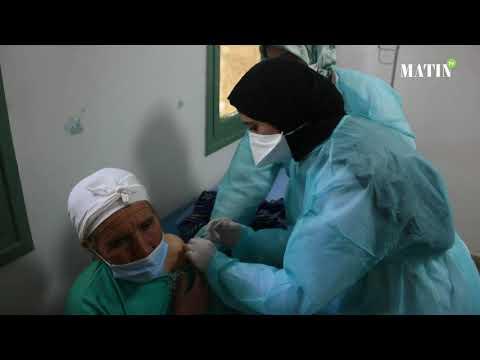 Video : L'opération de vaccination se poursuit : L'exemple au centre de Santé Guisser