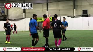 Red Fire vs. Dynamic FC Champions Liga Latinoamericana