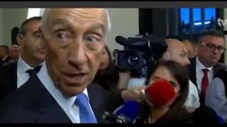 Presidente Marcelo na Procissão de Santo Cristo dos Milagres (video TVI)