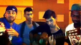 Don Nuno e João na guitarra - o nosso bairro ( guitarra )
