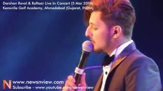 Sanam Re Songs Live Performance by Darshan Raval in Ahmedabad Music Concert