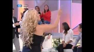 Maria Lisboa na RTP, com o tema Valentim