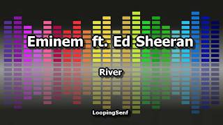 Eminem ft. Ed Sheeran - River - Karaoke