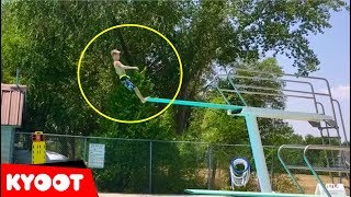Biggest Belly Flop Ever?!   Funny Water Compilation