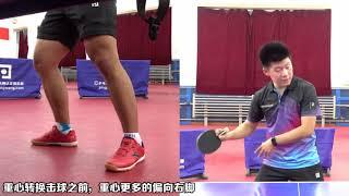 《无敌乒乓》第4集:直拍正手攻球技术 乒乓球教学视频