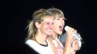 Taylor Swift, Julia Roberts & Joan Baez - Style Live - 8/15/15 - Levi's Stadium - [HD]