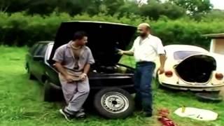 Jailson Mendes/pai de família em uma paródia de Supernatural.