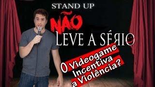 """Mauricio Meirelles - O Videogame Incentiva a Violência? - Trecho de """"Não Leve a Sério"""""""