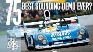 Incredible sound: '70s 3-litre sportscars full 75MM demo