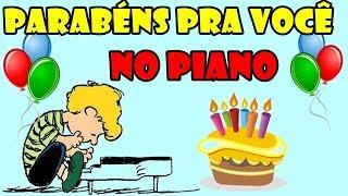Parabéns pra você no Piano / Teclado