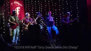 "Riff Raff ""Dirty Deeds Done Dirt Cheap"""