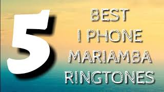 5 best I-phone mariamba ringtones part-1 [Download now ⬇]