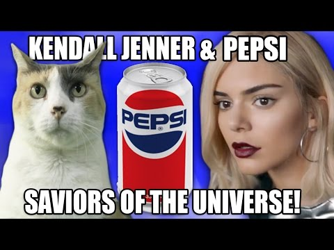 Kendall Jenner & Pepsi: Saviors Of The Universe!