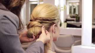 Jennifer Lawrence Bridal Updo Hairstyle Tutorial