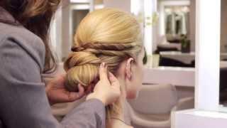 Jennifer Lawrence Bridal Updo Hairstyle Tutorial