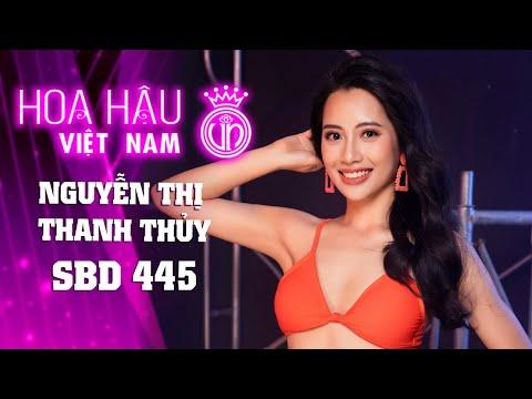 445 NGUYỄN THỊ THANH THỦY HOA HẬU VIỆT NAM 2020