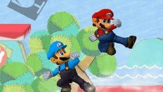 Mario vs. Luigi  【SSBM TAS】