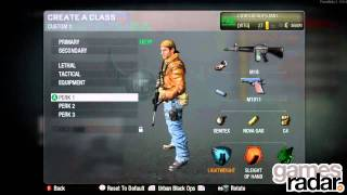 HD Call of Duty Black Ops Classes, Contracts, Playercard and Challenges Preview