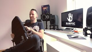 Zomboy in the Studio with the SubPac - Contest info below.