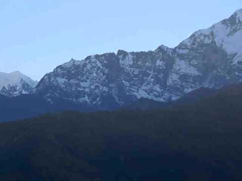 Martin in Nepal – Aussicht auf dem Poon Hill