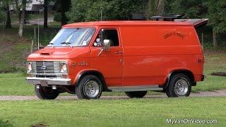 Joe Van's 1975 Chevy Van