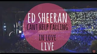 Can't Help Falling in Love - Ed Sheeran Live Performance (12 Dec 2015 - Auckland, NZ)