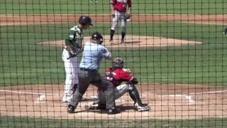 Yu-Cheng Chang, SS, Indians (07-24-2016) - High A Lynchburg, Carolina League