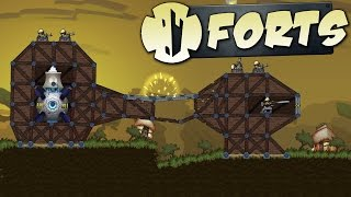 Forts Gameplay - Build and Defend Your Fort - Physics-based Fort Battles! - Forts Gameplay Part 1