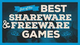 5 of the Best Shareware Freeware DOS PC Games | Best Free DOS Old PC games