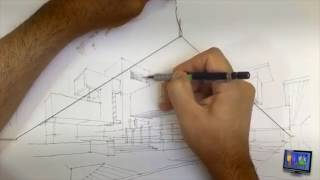 How to keep perspective right Quick Tip: Perspective Drawing with String and a Paper Clip