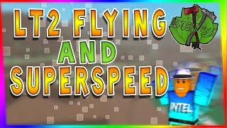 *NEW*SUPERSPEED AND FLY GLITCH  | ROBLOX LUMBER TYCOON 2