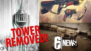 Tower Removed! New Cosmetics - Para Bellum - 6News - Tom Clancy's Rainbow Six Siege - R6