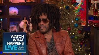 Lenny Kravitz And Mariah Carey As Struggling Artists | WWHL