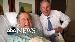 New details on last hours of former President George H.W. Bush