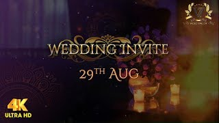 Ethnic Hindu Wedding Invitation Video : VTSD034