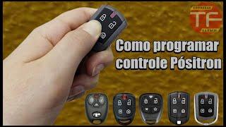 Como programar o controle dos alarmes Pósitron , Exact , Fittipaldi , Keyless e Concept
