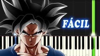 ULTRA INSTINCT / DBS / FACIL / Piano Tutorial
