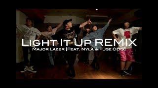 Light It Up REMIX -Major Lazer [Feat. Nyla & Fuse ODG]-   ARISA @DANCESTUDIOJUICY