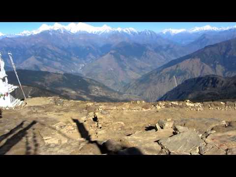 Martin in Nepal 2012 – Aussicht an der Gumpa (4150m)