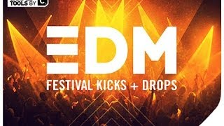 Sample Tools by Cr2 - EDM Festival Kicks & Drops (Sample Pack)