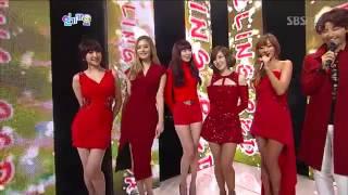 [Vietsub] Interview Dazzling Red - Inkigayo 121223
