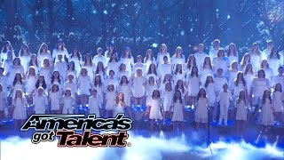 "One Voice Children's Choir: Choir Covers ""Let It Go"" from Frozen - America's Got Talent 2014"